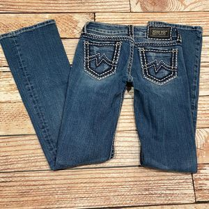 Miss Me Sunny boot cut jeans size 26